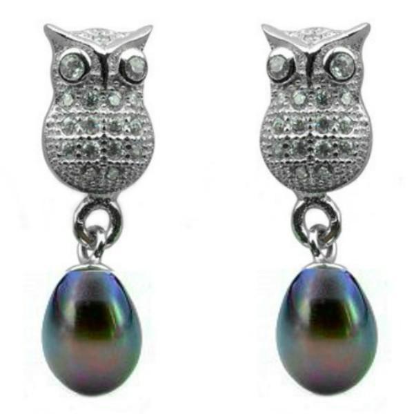 Cercei Lucky Perle Naturale Negre – Cadouri si perle