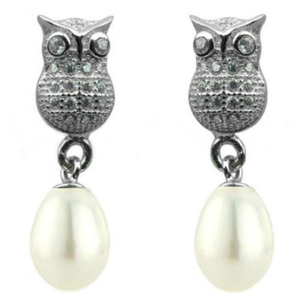 Cercei Lucky Perle Naturale Albe – Cadouri si perle