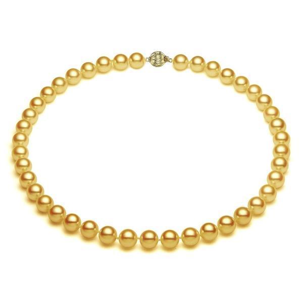 Colier Akoya Gold Perle Naturale Rare, Akoya si Aur Galben – Cadouri si perle