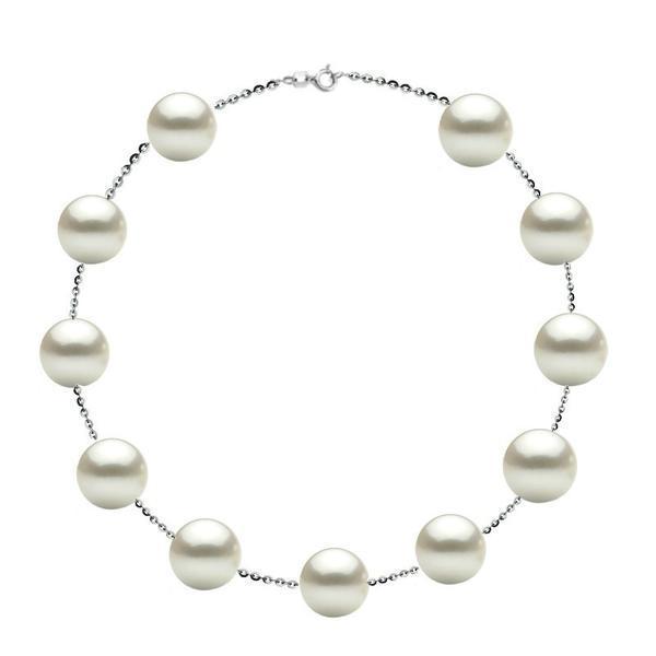 Colier Office Argint 925 si Perle Naturale Premium de 10 mm – Cadouri si perle