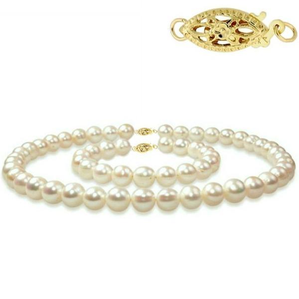 Set Aur si Perle Naturale Albe – Cadouri si perle
