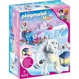 Playmobil Magic Yeti cu sanie si figurine