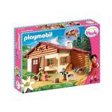 Playmobil Heidi Heidi si cabana din munti