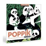 Creeaza puzzle cu stickere Animale Poppik
