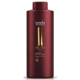 Sampon cu Ulei de Argan - Londa Professional Velvet Oil Shampoo 1000 ml