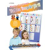 Tabla impartirii. Planse educationale, editura Litera
