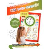 Cat este ceasul? Planse educationale, editura Litera