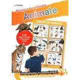 Animale. Planse educationale, editura Litera