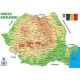 Plansa: Harta Romaniei, editura Didactica Publishing House