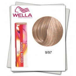 Vopsea fara Amoniac - Wella Professionals Color Touch nuanta 9/97 blond luminos perlat castaniu
