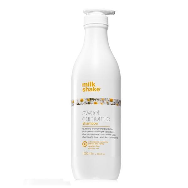 Sampon cu mușețelul pentru par blond Milk Shake Sweet Camomile 1000ml imagine produs