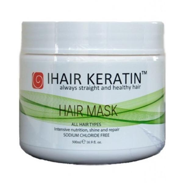 Masca Intens Nutritiva si Reparatoare - iHair Keratin Hair Mask 500 ml