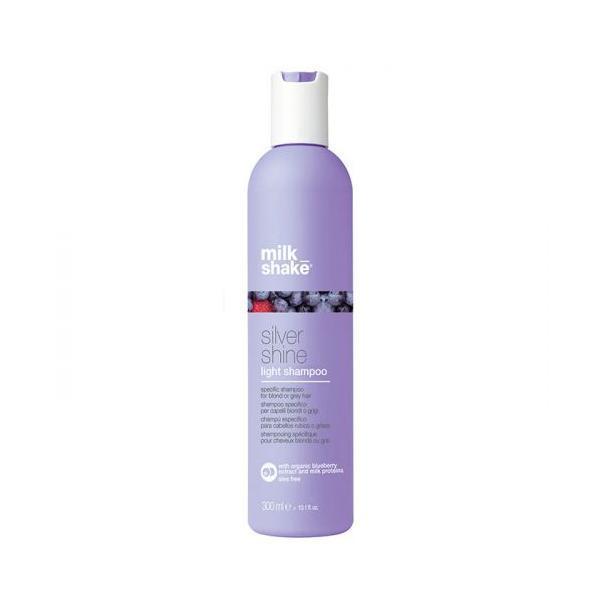 Sampon pentru păr gri și blond - Milk Shake Silver Shine Light Shampoo 300ml