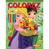 Marioara si Ionut. Colorez fructe - Petru Ghetoi, editura Casa Povestilor