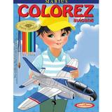 Marius. Colorez avioane - Petru Ghetoi, editura Casa Povestilor
