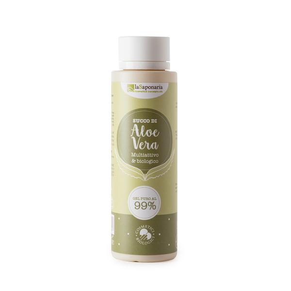 Gel de Aloe Vera Pur pentru Ten si Par LaSaponaria 150 ml