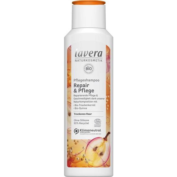 Sampon Reparator cu Struguri si Quinoa pentru Par Normal si Uscat Lavera, 250 ml imagine produs