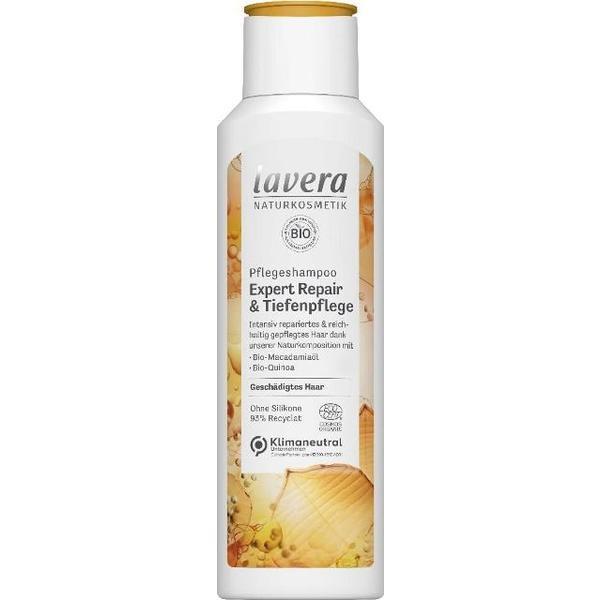 Sampon Expert Reparator cu Macadamia si Quinoa pentru Par Deteriorat Lavera, 250 ml esteto.ro