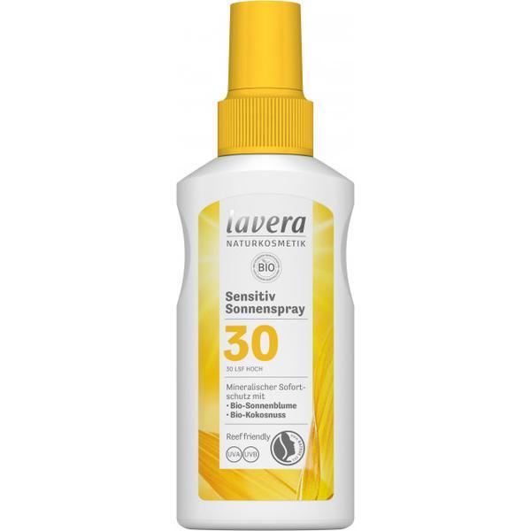 Spray Bio Protectie Solara SPF 30 pentru Piele Sensibila Lavera, 100ml