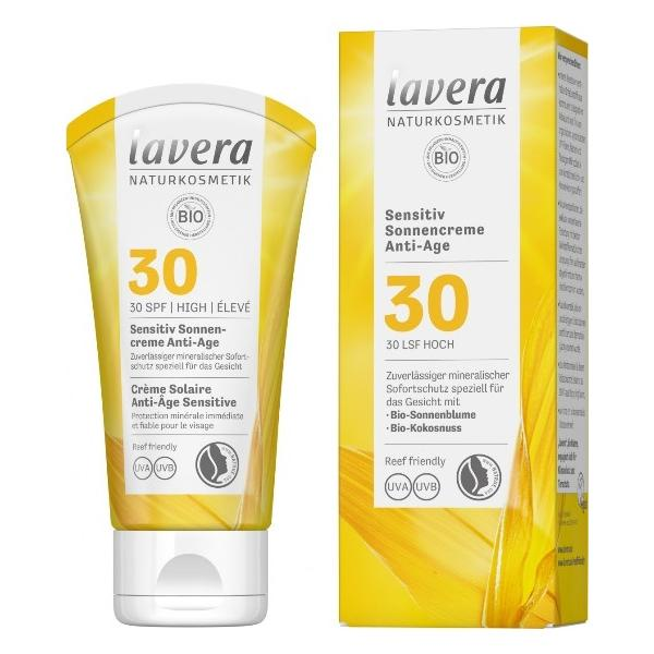 Crema Bio Protectie Solara SPF 30 pentru Piele Sensibila Lavera, 50ml imagine produs