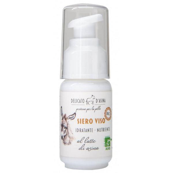 Serum Facial Hidratant si Regenerant cu Lapte de Magarita Bio La Dispensa, 30 ml imagine