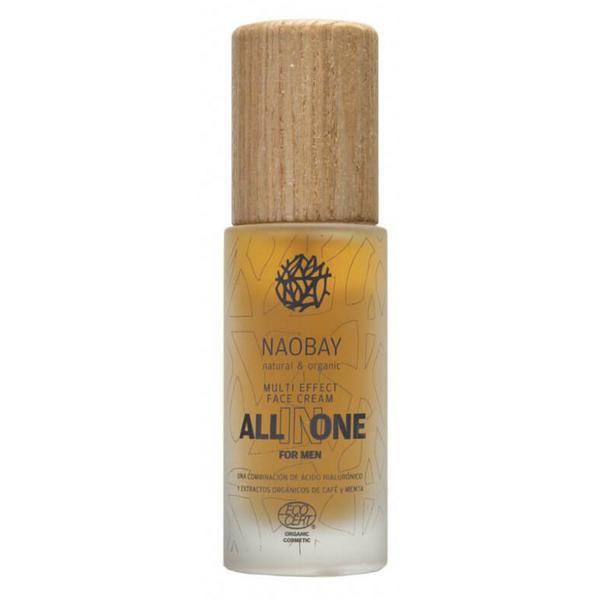 Crema de Fata pentru Barbati cu Acid Hialuronic All in One Naobay, 50 ml imagine produs
