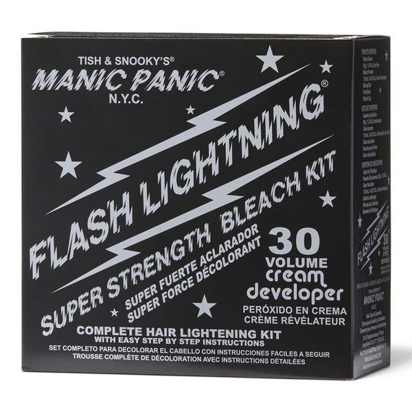 Kit pentru Decolorare Manic Panic Flash Lightning 30VOL imagine produs