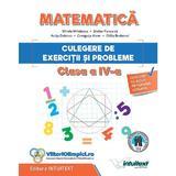 Matematica. Culegere de exercitii si probleme - Clasa 4 - Mirela Mihaescu, Stefan Pacearca, editura Intuitext