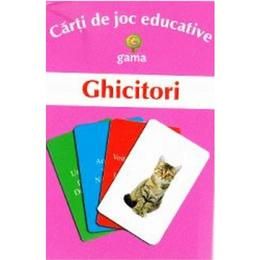 Ghicitori - Carti de joc educative, editura Gama