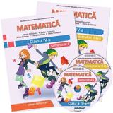Matematica - Clasa 4 Sem.1+2 - Manual + CD - Mirela Mihaescu, Stefan Pacearca, editura Intuitext
