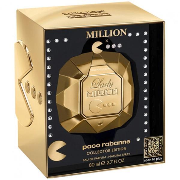 Apa de parfum pentru femei Paco Rabanne Lady Million PacMan Collector 80ml imagine produs