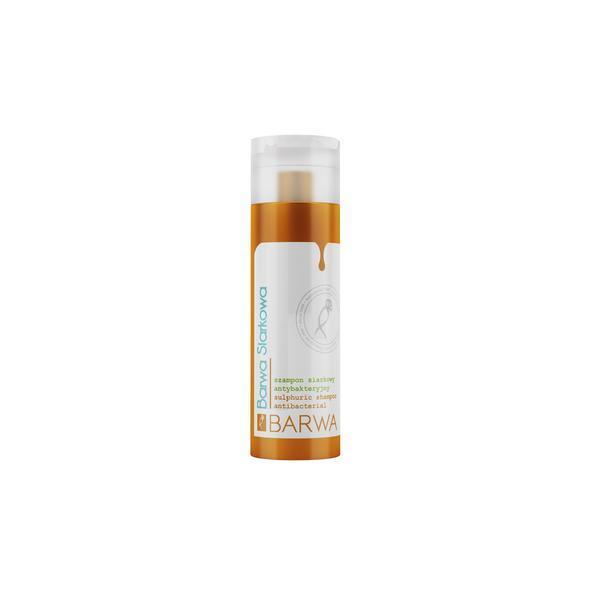 Sampon antibacterian cu sulf - par gras, antimatreata, 180 ml, Barwa Cosmetics imagine