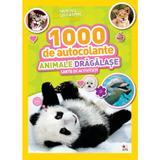 1000 de autocolante. Animale dragalase. Carte de activitati, editura Litera
