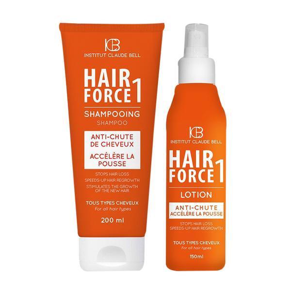 Pachet promo Hair Force One Sampon 200ml si Lotiune 150ml Institut Claude Bell