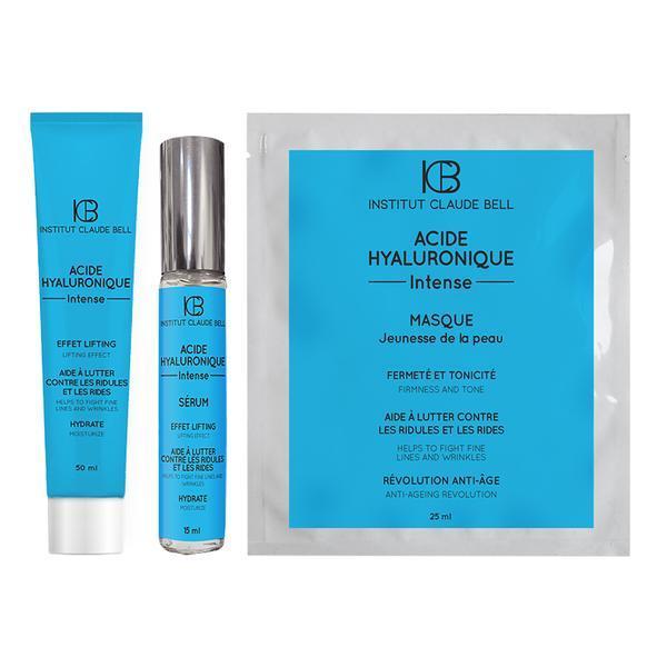 Pachet Acid Hyaluronique Intens Crema Ten 50ml Serum Ten 15ml si Masca Ten 25ml Institut Claude Bell imagine produs