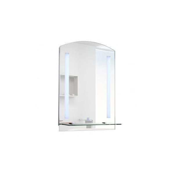 Oglinda baie cu LED 50 x 4 x 70 cm – Caerus Capital