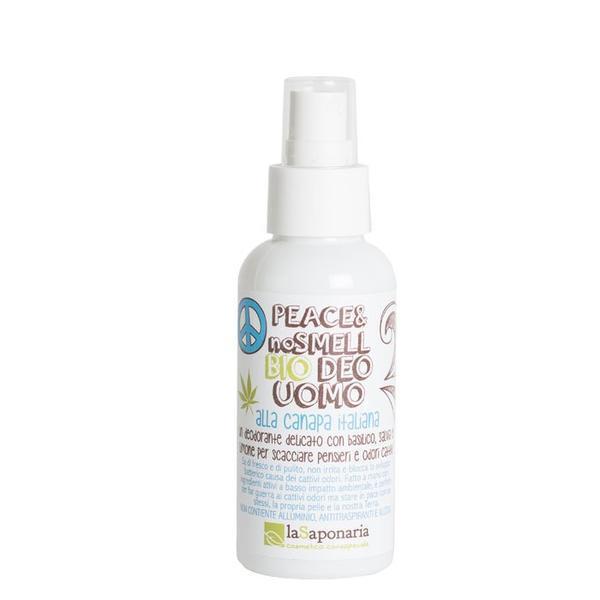 Deodorant organic barbati Peace no Smell, 100 ml, LaSaponaria poza