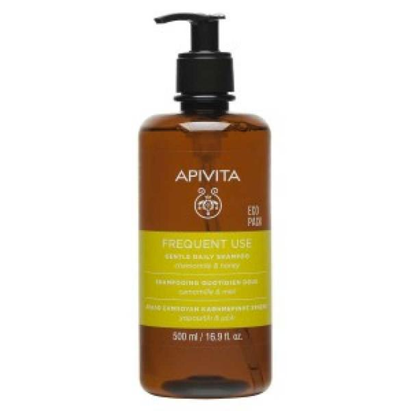 Sampon Daily Ecopack, Apivita, 500ml