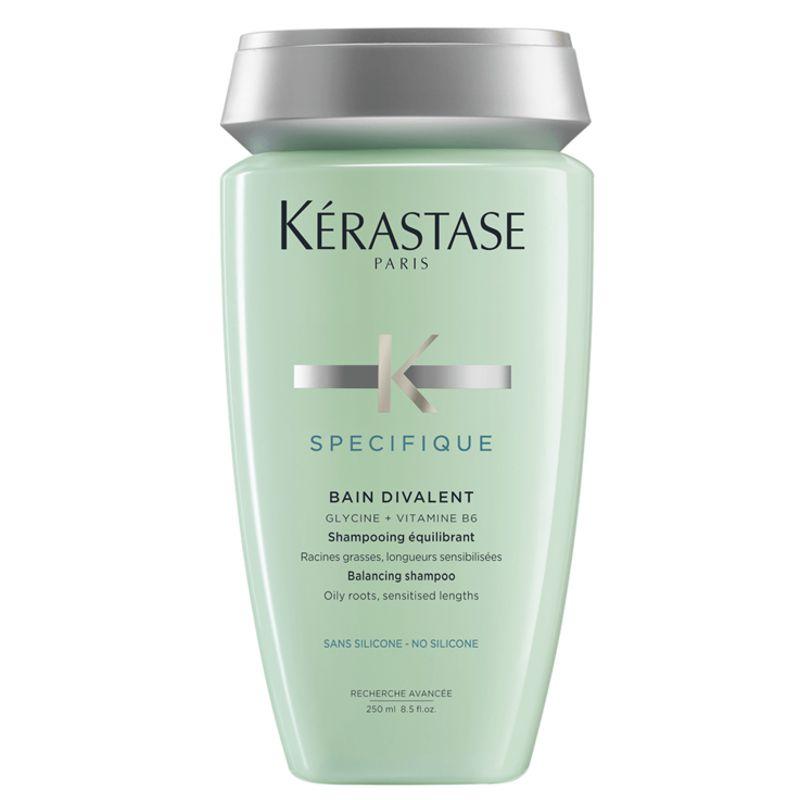 Sampon pentru Par si Scalp Gras - Kerastase Specifique Bain Divalent Shampoo 250 ml