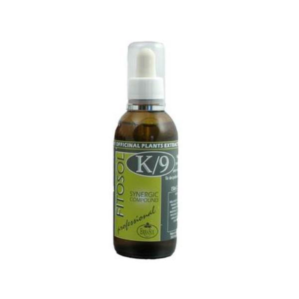 Serum Sinergie sebo-reechilibranta profesionala, Fitosol K9, Erbasol, 150 ml