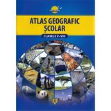 Atlas geografic scolar cls V-VIII necartonat, editura Cartographia