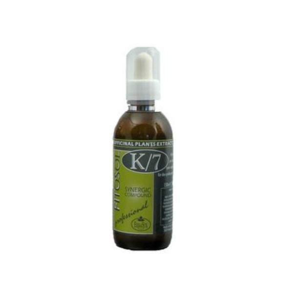 Serum Sinergie termoactiva, tratament de detoxifiere, Fitosol K7, Erbasol, 150 ml