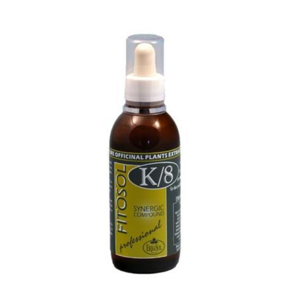 Serum Sinergie remineralizanta - tratament de tonifiere, fitosol K8, Erbasol, 150 ml imagine