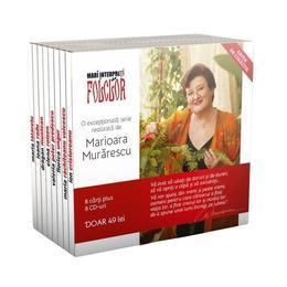 Pachet Mari interpreti de folclor (8 carti + 8 CD-uri), editura Litera