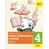 Limba romana - Clasa 4 Sem.1 - Caiet de lucru + Portofoliul de evaluare - Alina Radu, Roxana Jeler, editura Grupul Editorial Art