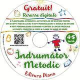 CD Indrumator metodic 4-5 ani, editura Diana