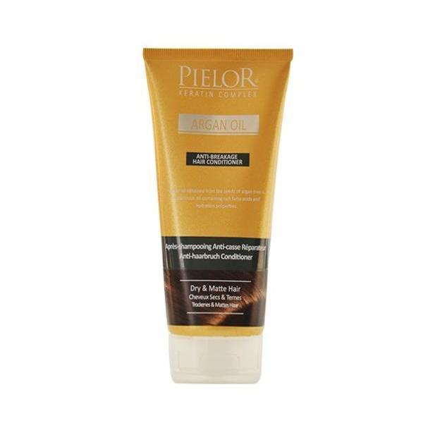 Balsam de păr anti-rupere Pielor Argan oil, 200 ml imagine