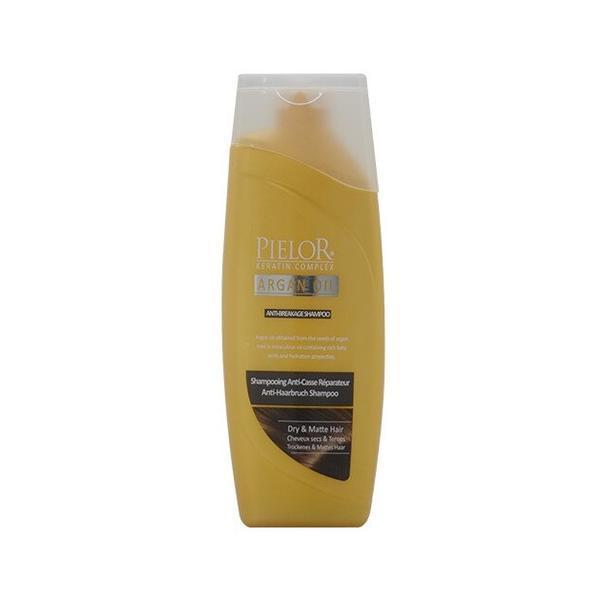 Sampon anti-rupere Pielor Argan oil, 400 ml imagine