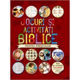 Jocuri si activitati biblice pentru prescolari, editura Casa Cartii