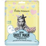 Mască de față Petite Maison brightening, 25 ml